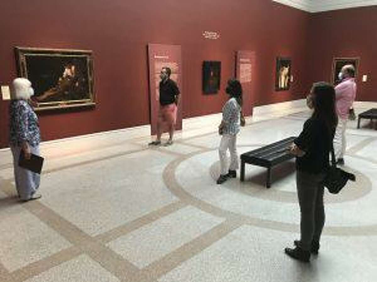 Docent-led tours, exhibits such as