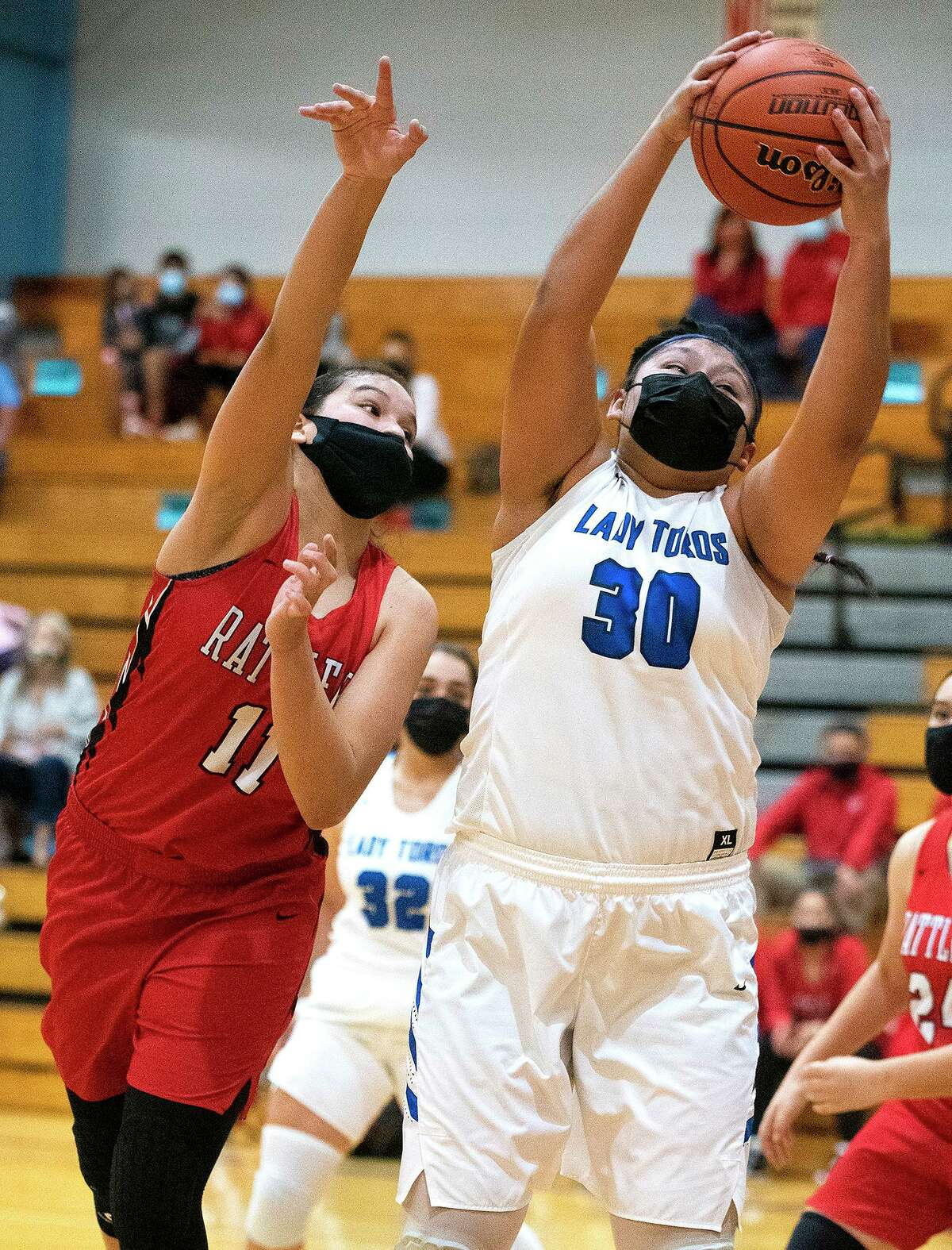 Amanda Arreola and Cigarroa fell 38-34 in the District 30-5A opener against Rio Grande City.