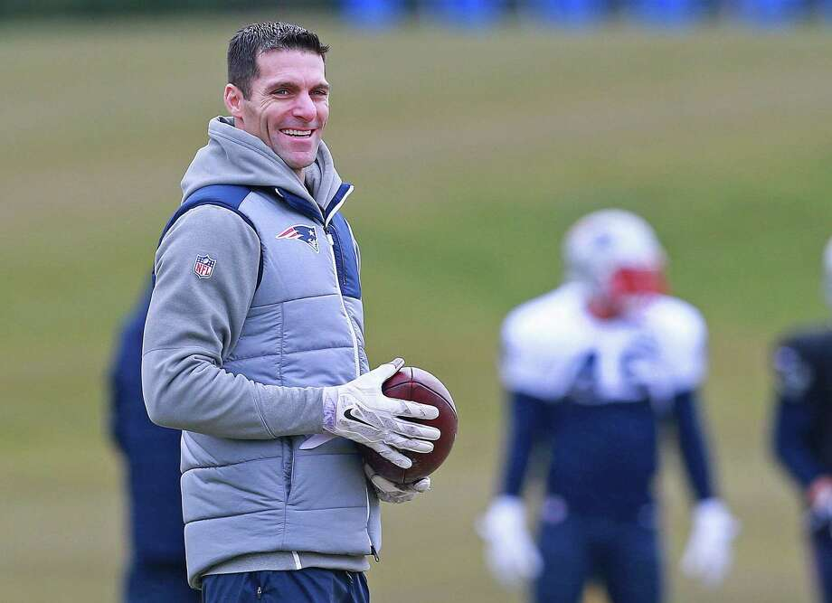 Nick Caserio, the Patriots director of player personnel hired by the Texans to become their general manager, had been with New England since 2001. Photo: MediaNews Group/Boston Herald Via Getty Images, Contributor / MediaNews Group Via Getty Images / Matt West
