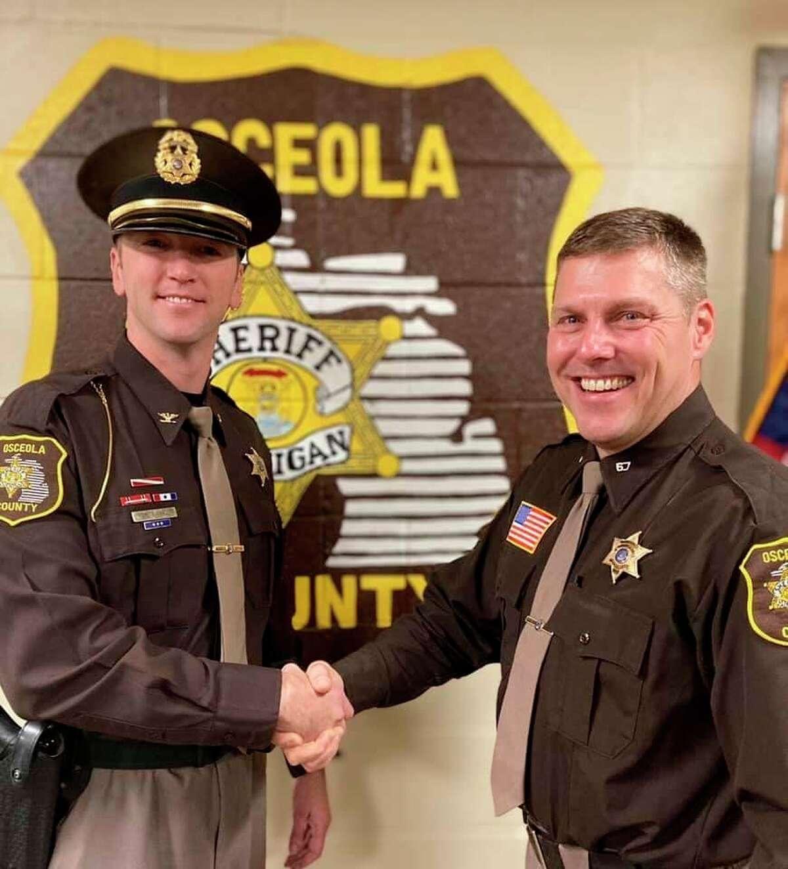 Osceola County Sheriff Mark Cool appointed Deputy Jed Avery as Undersheriff on Jan. 1. (Courtesy photo/Osceola County Sheriff's Department)
