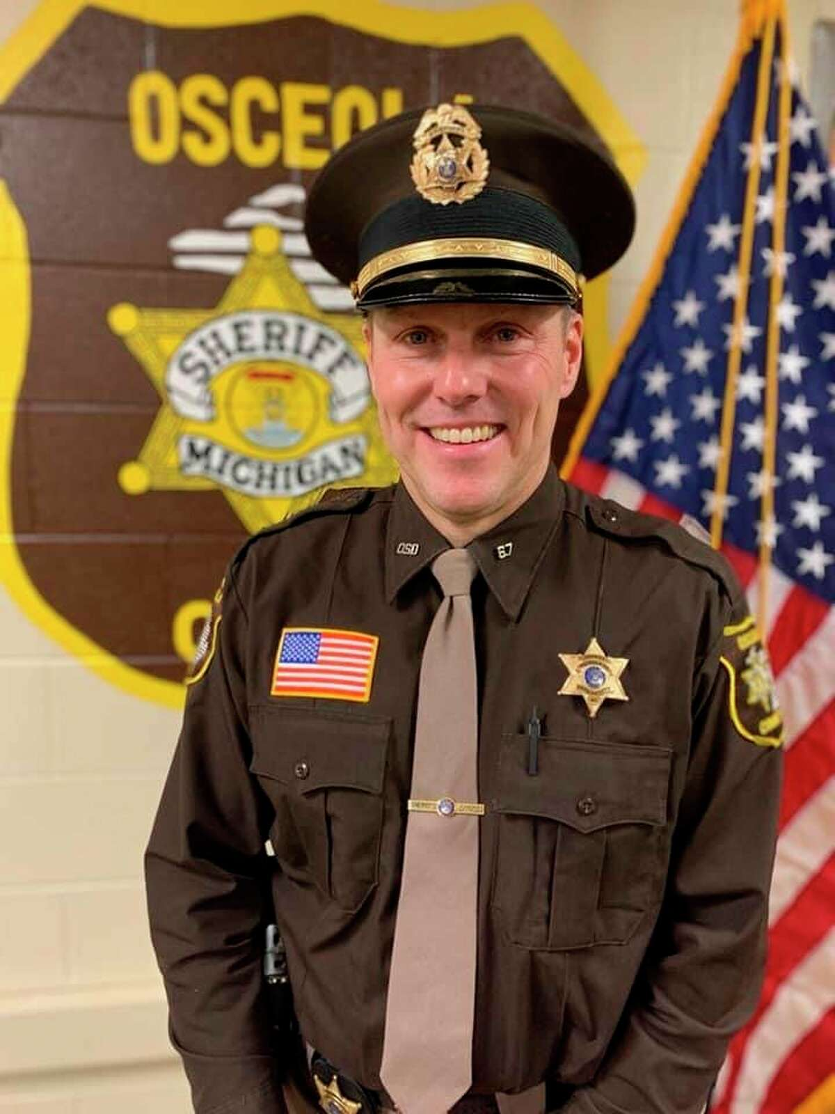 Newly elected Sheriff Mark Cool was sworn into office on Dec. 18.(Courtesy photo/Osceola County sheriff's Department)