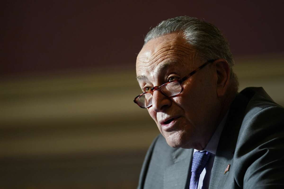 Although one Senate run-off race in Georgia has not been called, U.S. Sen. Charles E. Schumer on Wednesday declared himself majority leader of the upper branch of Congress. (AP Photo/Susan Walsh)