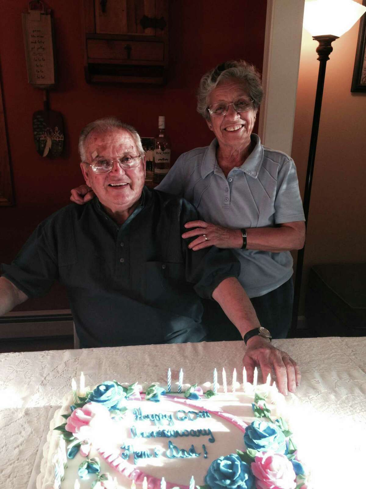 Frank and Vivian Lucherini of Stamford, Connecticut. Frank, former owner of Summer Street Dairy Queen in Stamford, died Jan. 1, 2021.