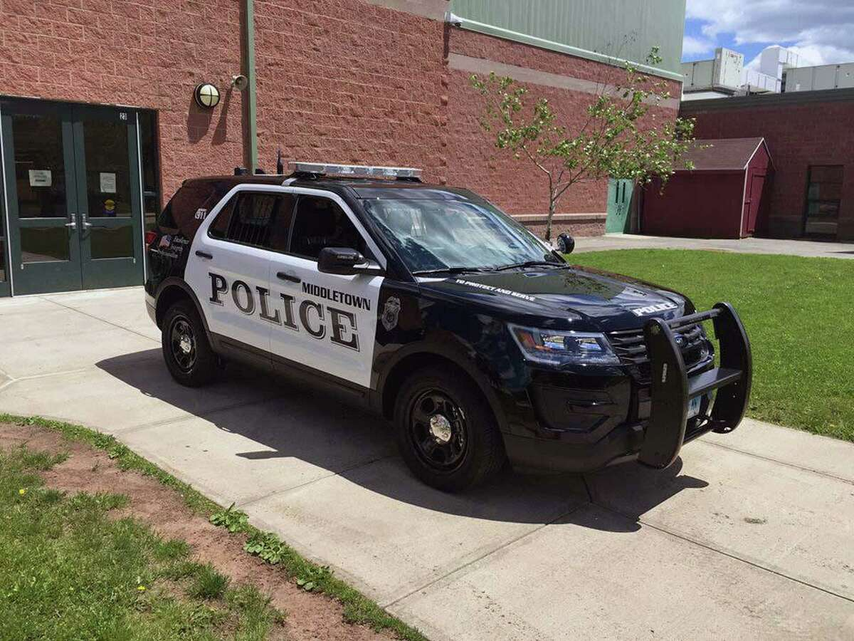 A file photo of a Middletown, Conn., police cruiser.