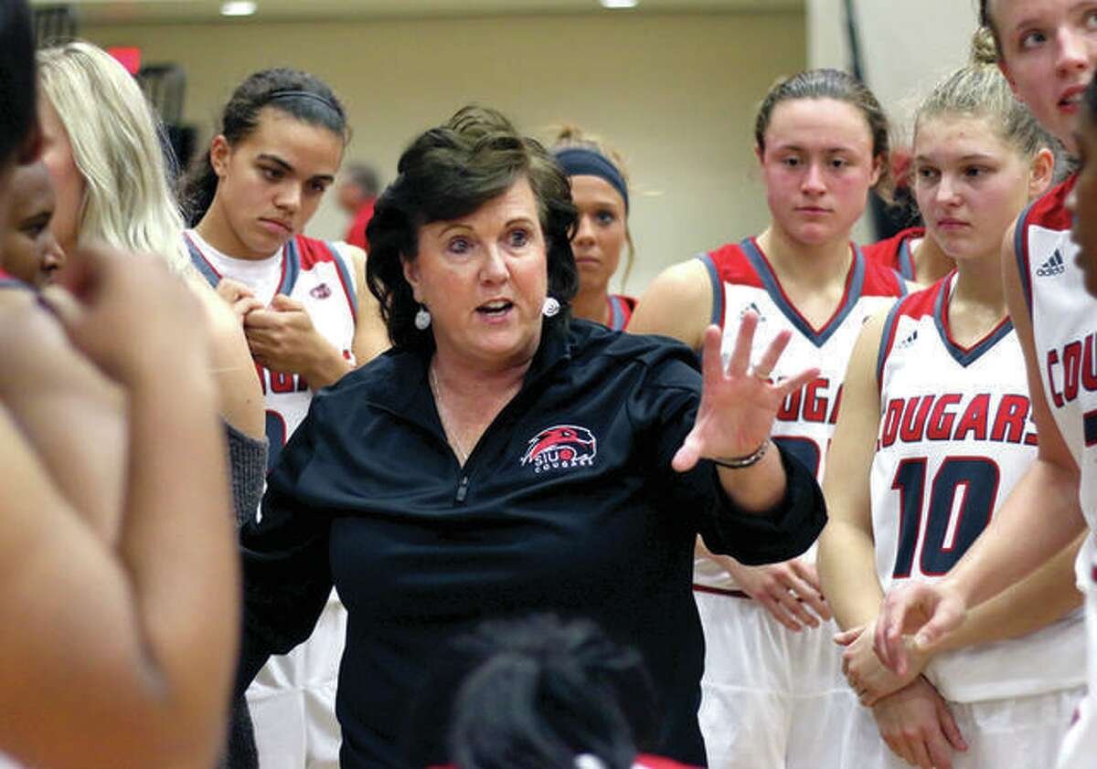 SIUE coach Paula Buscher's women's basketball team and the SIUE men's team have made adjustments to their schedules because of COVID-19 concerns and postponements.