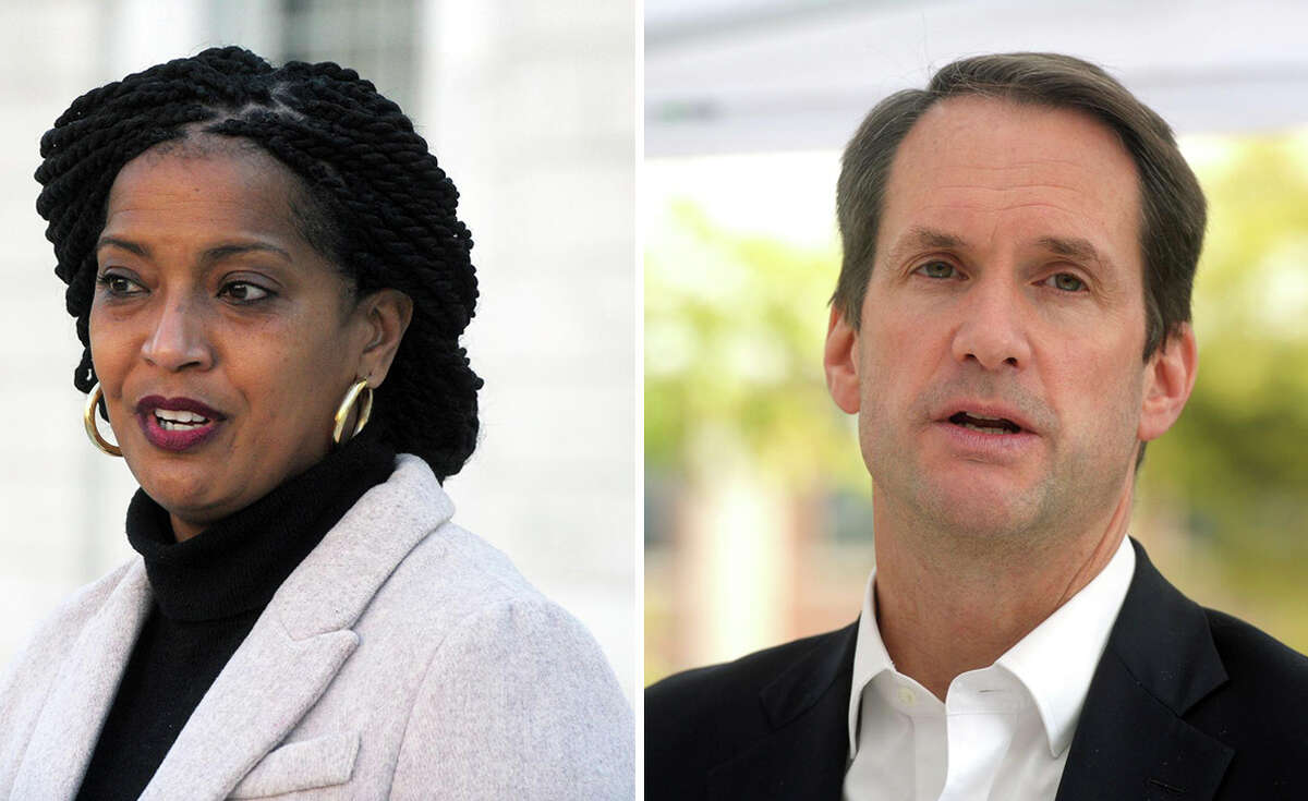 Pictured: U.S. Rep. Jahana Hayes, U.S. Rep. Jim Himes