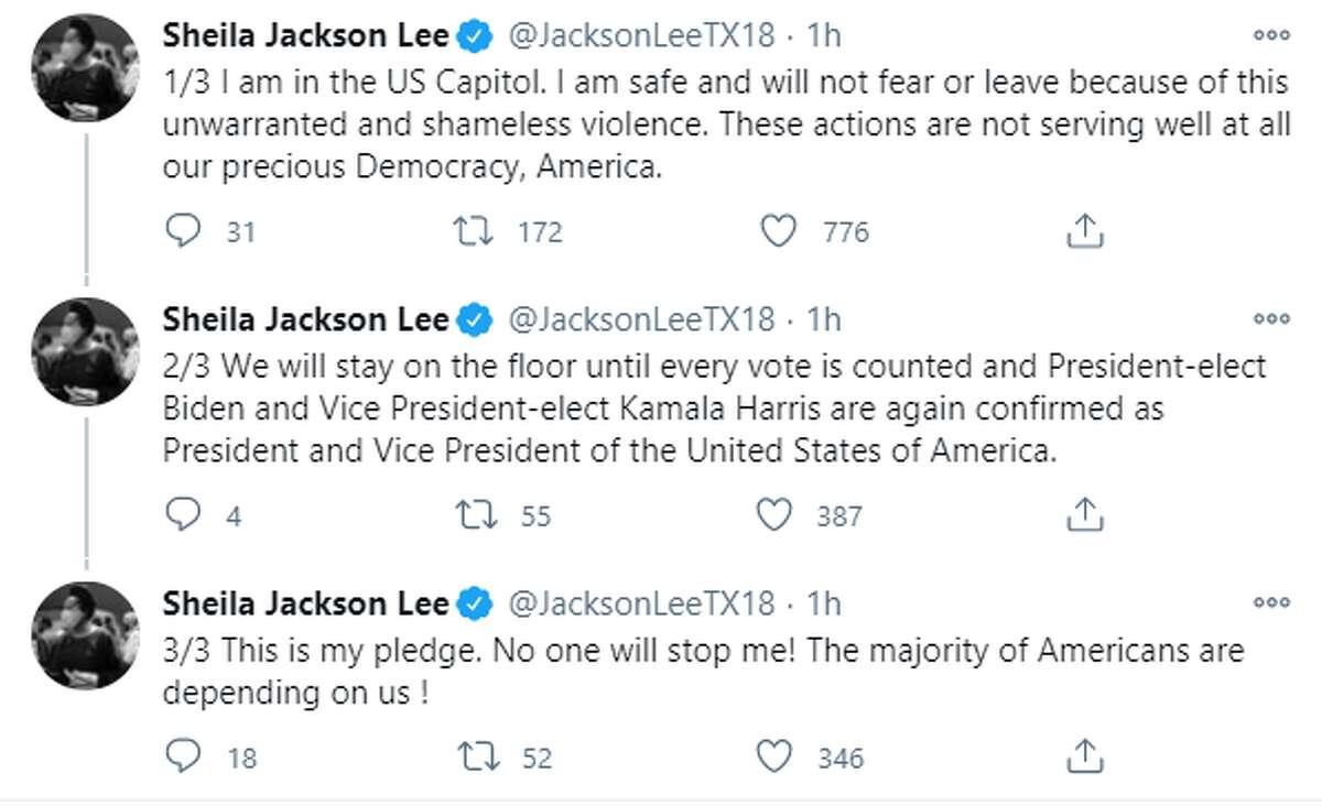 U.S. Rep. Sheila Jackson Lee, D-Houston