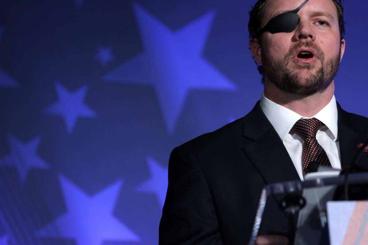 U.S. Rep. Dan Crenshaw (R-TX) has called from the pro-Donald Trump to stand down. (Photo by Alex Wong/Getty Images)