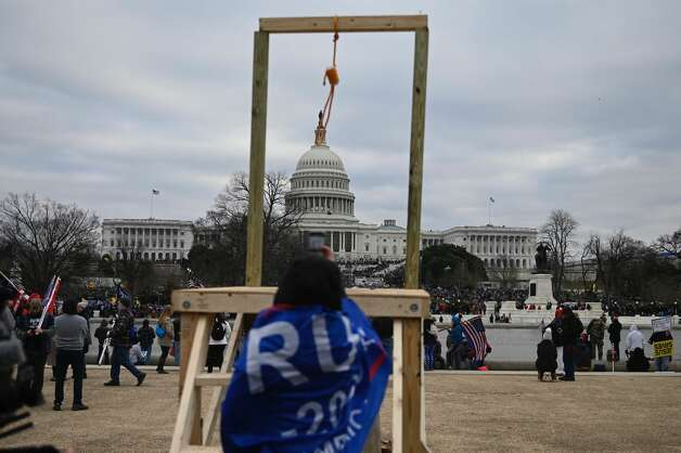 Supporters of President Donald Trump gather across from the US Capitol on January 6, 2021, in Washington, DC. Photo: Andrew Caballero-Reynolds, AFP Via Getty Images