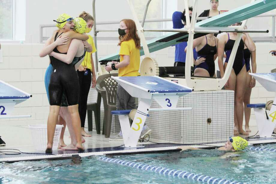 Spectators will not be allowed to attend the girls swimming/diving state finals. The Chippewas are scheduled to compete in the Division 3 meet on Jan. 16 at Lake Orion. (News Advocate file photo)
