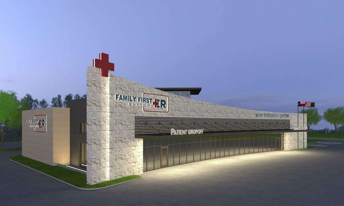 Family First ER at 5410 East Freeway Service Road kicks off the first phase of a new development in Baytown.