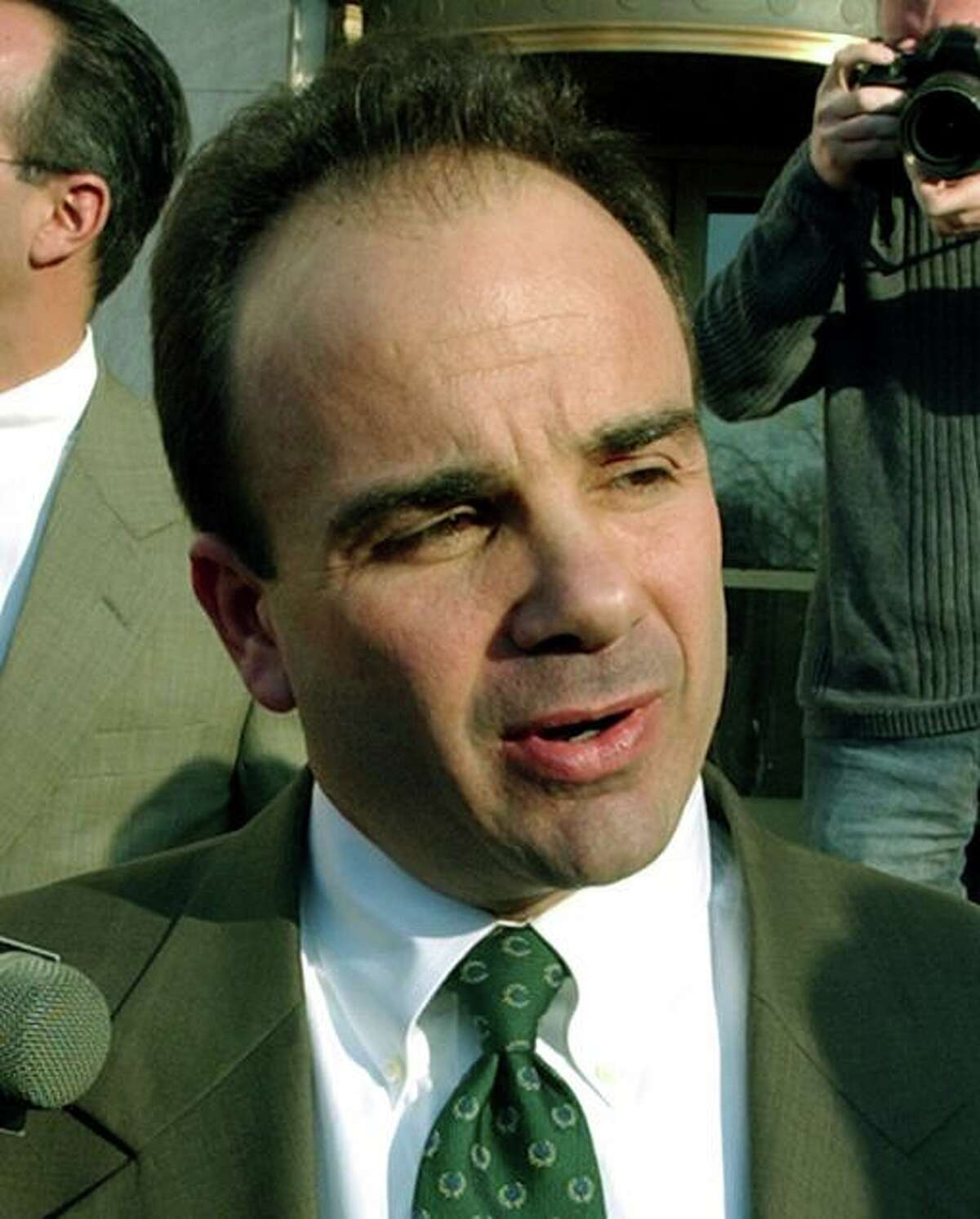 Bridgeport Mayor Joseph Ganim.