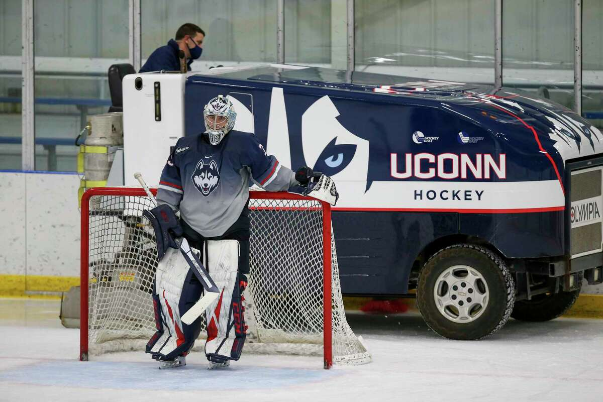 UConn men's hockey is on pause after a member of its program tested positive for COVID-19.