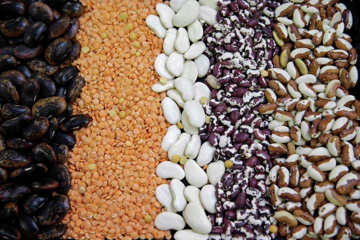 Plant seeds tested in the making of plant-based foods.