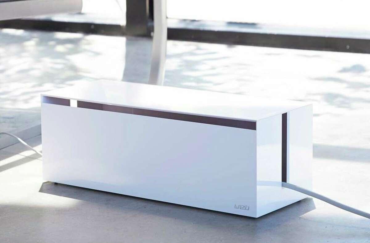 Yamazaki Web Cable Box, $25.99