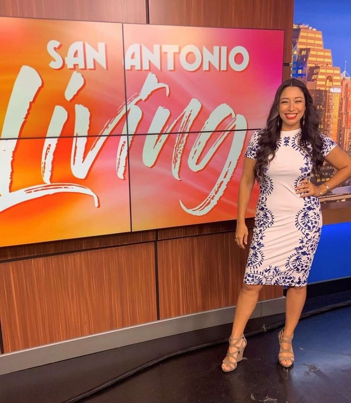 San Antonio Living co-host Denise Cabello said goodbye to viewers after 8 years at the NBC affiliate.