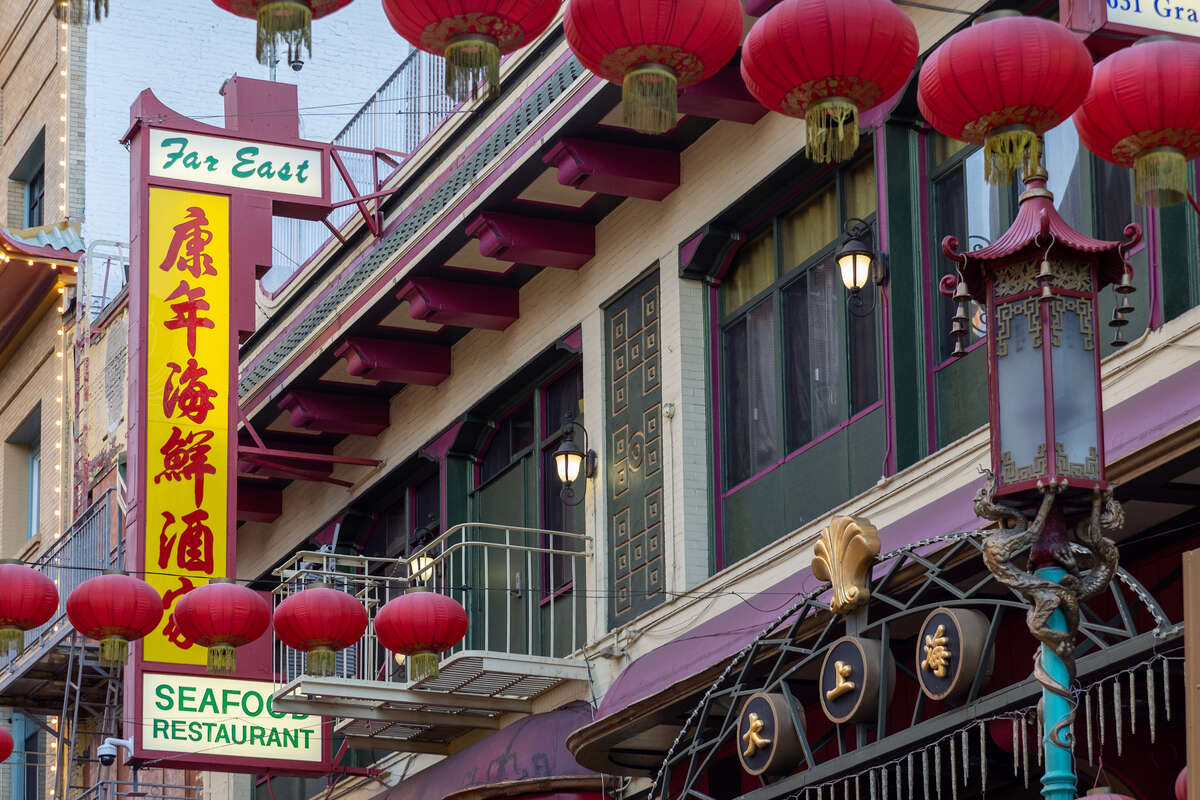 Far East Cafe, Grant Ave., Chinatown.