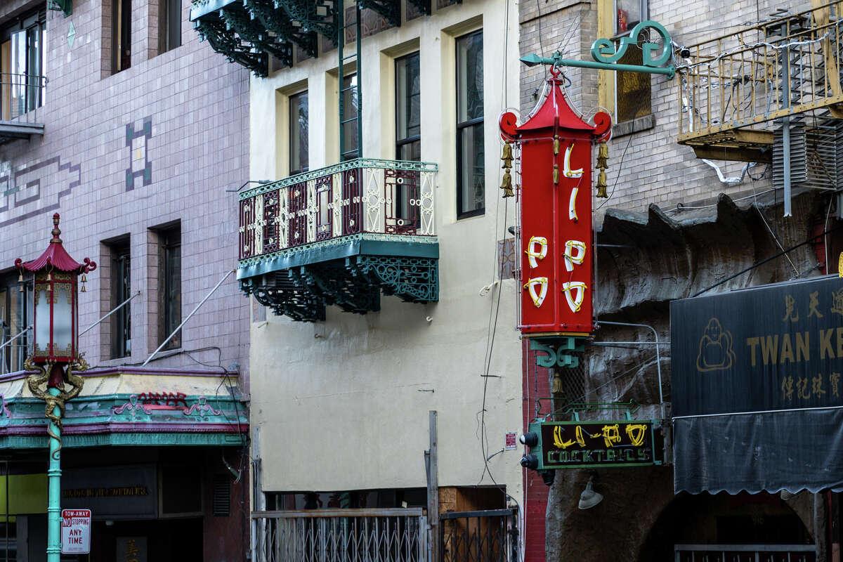 Li-Po Lounge, Grant Ave., Chinatown.