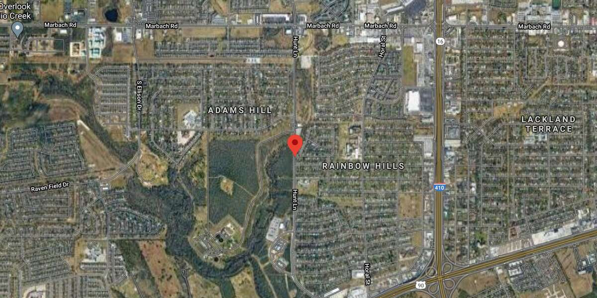 A man was hit and killed while trying to cross a far West Side street Wednesday night, San Antonio police said. The map shows the approximate location of the incident.