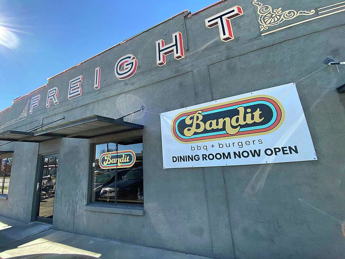 Bandit BBQ opened last year at Freight Gallery & Studios.