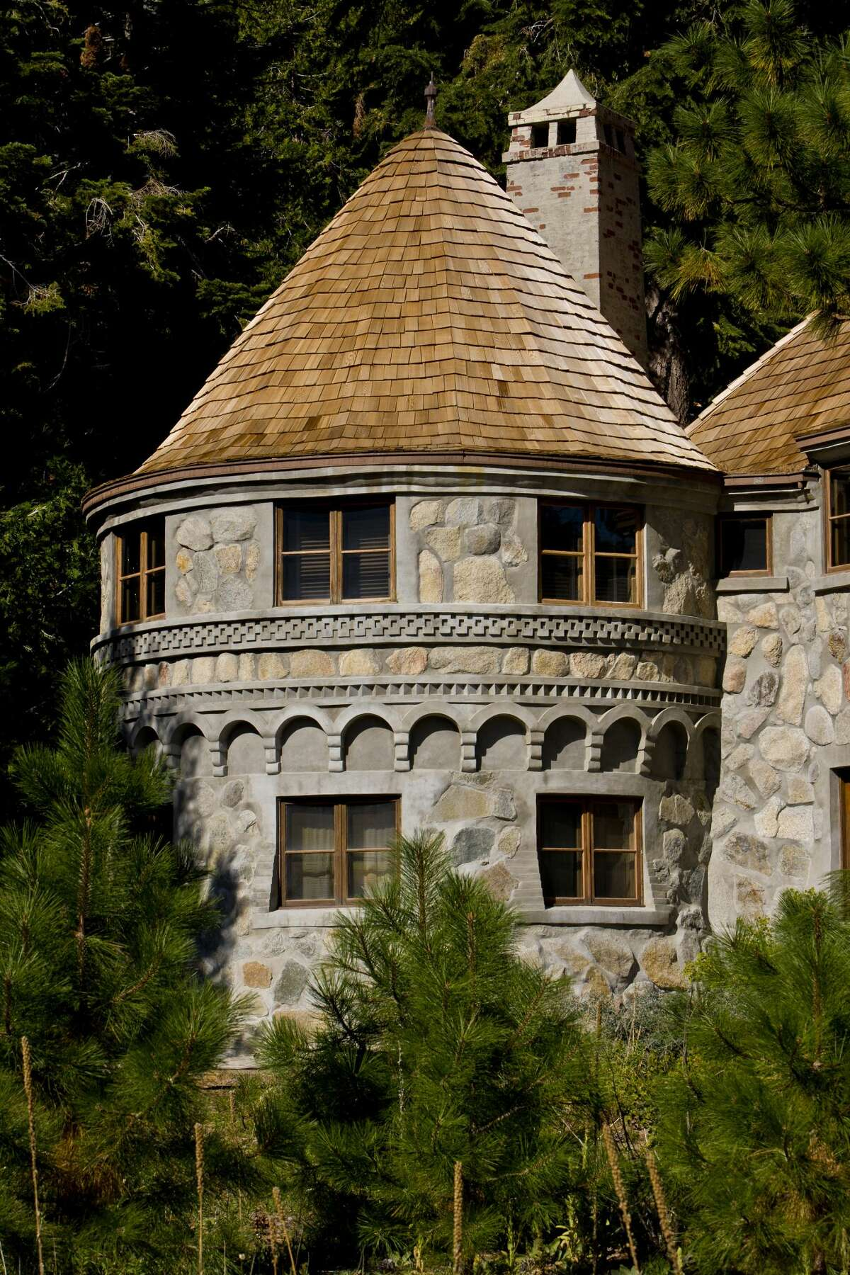 The Vikingsholm castle greets visitors to Emerald Bay.