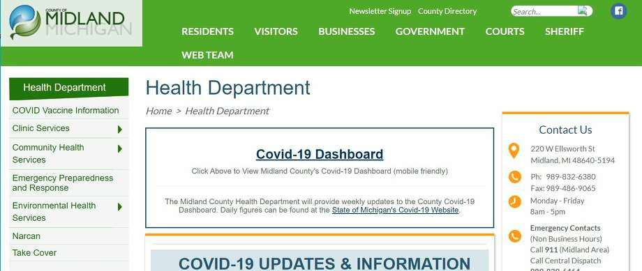 Midland County seniors age 65 and older go to the county's website and register for the vaccination there. While on the home page, viewers can click on COVID Vaccine Information at the top left, which will take them to a page with the Survey. Click on the Survey and fill out the form. (Screenshot/Midland County Health Department)