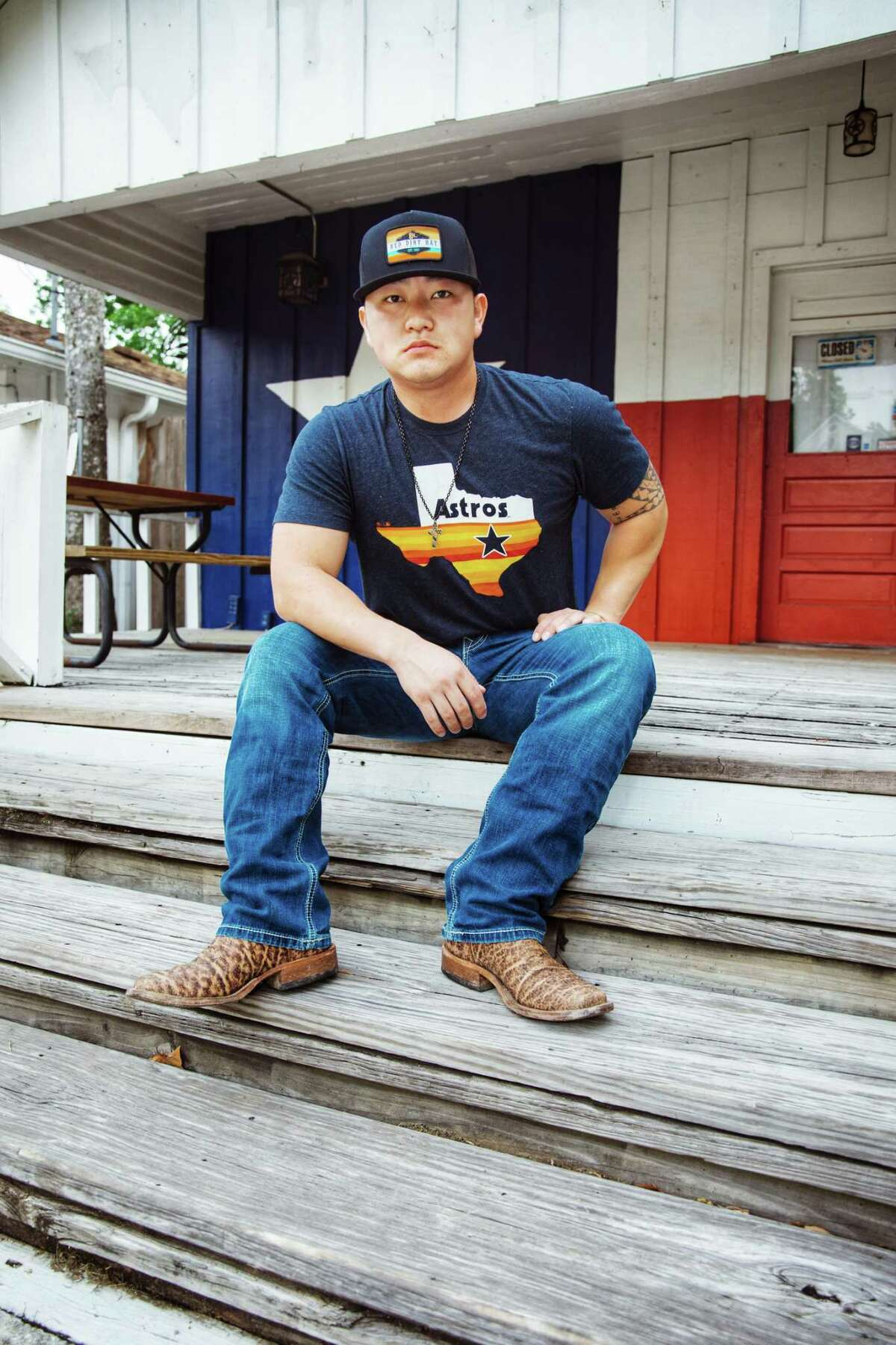 Oklahoma native Cody Hibbard's music career took off once he moved to Conroe and began playing local open mic nights. Now he has a full EP and on April 23 released