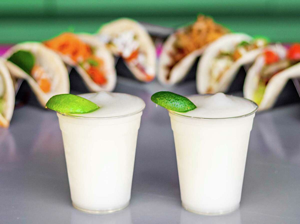 Frozen margaritas lead the bar menu from Velvet Taco, the Dallas-based restaurant that's planning to open two locations in San Antonio in the coming months.