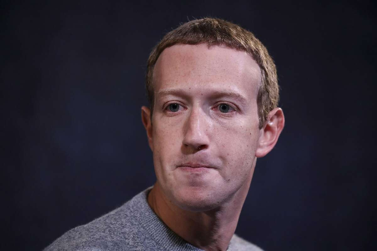 Facebook CEO Mark Zuckerberg speaks about Facebook's News feature at the Paley Center For Media on October 25, 2019, in New York.
