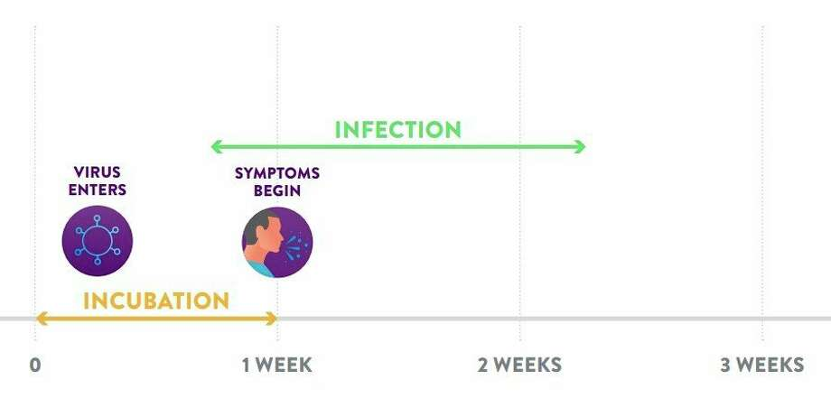 District Health Department #10 officials say symptoms of COVID-19 can begin around a week after the coronavirus enters a person's system. (Screenshot/DHD#10 website)