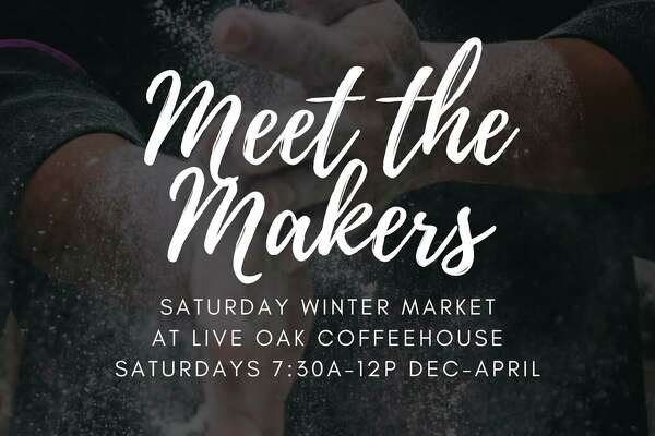 Saturday, Jan. 9: Come Meet the Makers, an event to showcase and support local makers and growers, is set for 7:30 a.m. to noon at Live Oak Coffeehouse, 711 Ashman St. Midland. (Photo/Live Oak Coffeehouse)