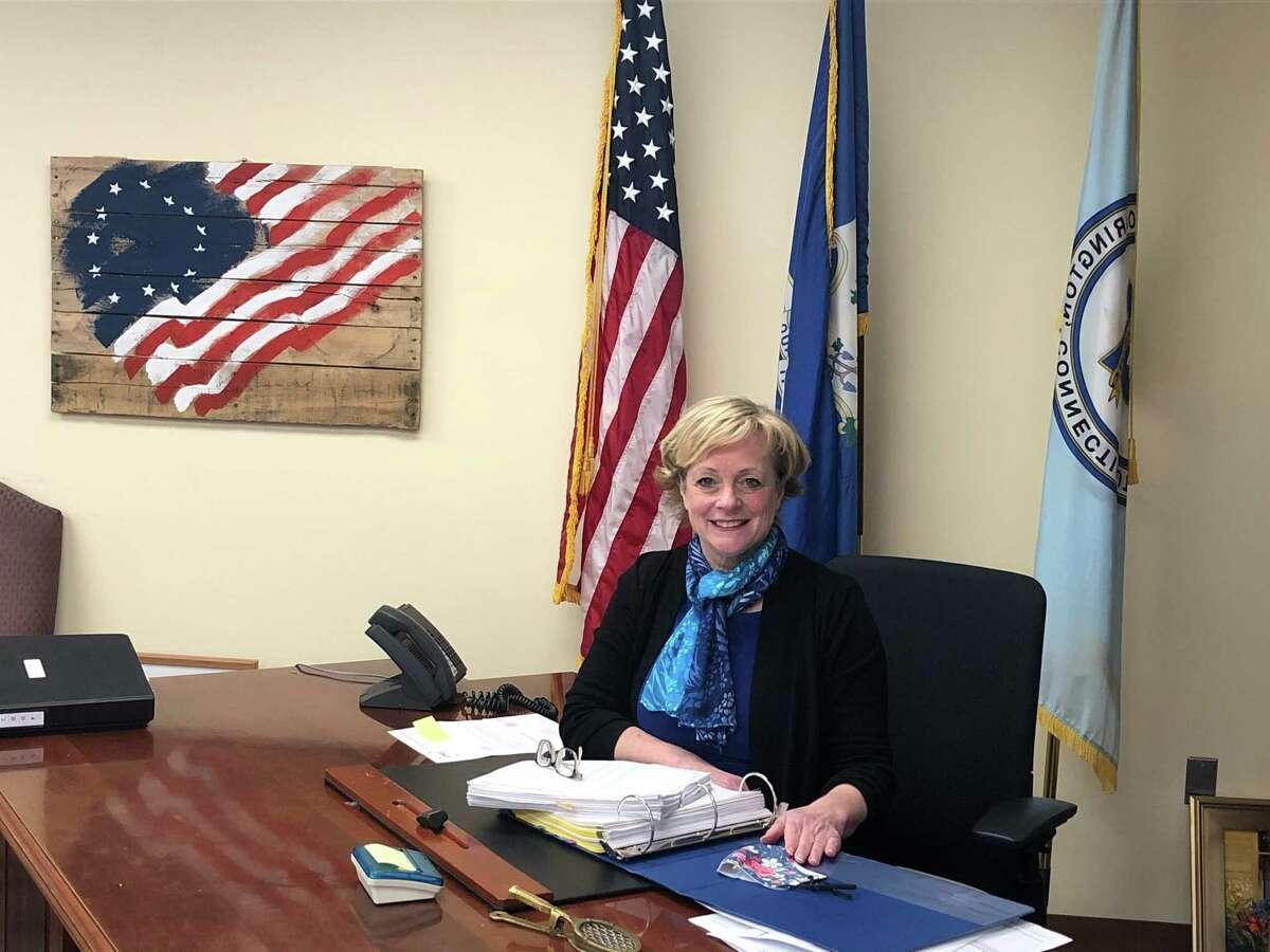 Mayor Elinor Carbone.
