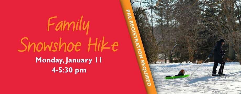 Monday, Jan. 11: Evening Snowshoe Hike is set for 5 to 6:30 p.m. at the Chippewa Nature Center in Midland.(Photo/Chippewa Nature Center)