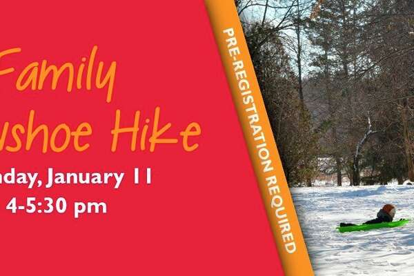 Monday, Jan.11:Evening Snowshoe Hikeis set for 5 to 6:30 p.m. at the Chippewa Nature Center in Midland.(Photo/Chippewa Nature Center)