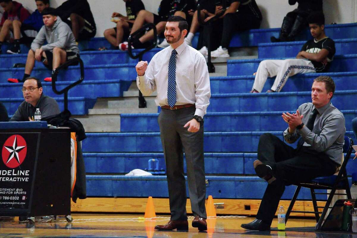 Friendswood basketball coach Caleb Marburger hopes his team can surge in its final 10 games to reach the playoffs.