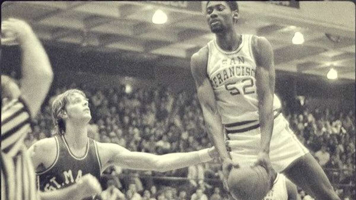 James Hardy spent three seasons (1975-78) as a forward for USF.