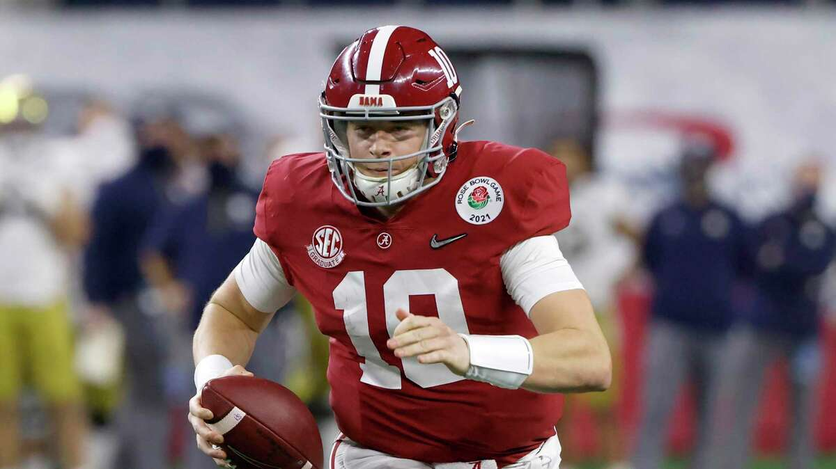 Alabama quarterback Mac Jones was named to the Walter Camp All-America first team.
