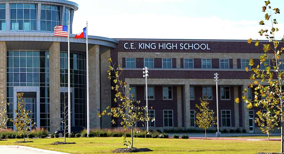 C.E. King High School in the Sheldon Independent School District. Two workers on the $146 million project say they were victims of wage theft, claiming they were not paid the prevailing wage. Sheldon ISD and the subcontractor deny they were underpaid.