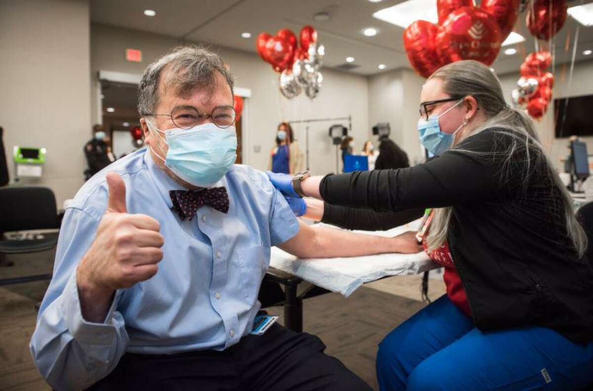 On Dec. 15, Dr. Peter Hotez received his first dose of the Pfizer COVID-19 vaccine.