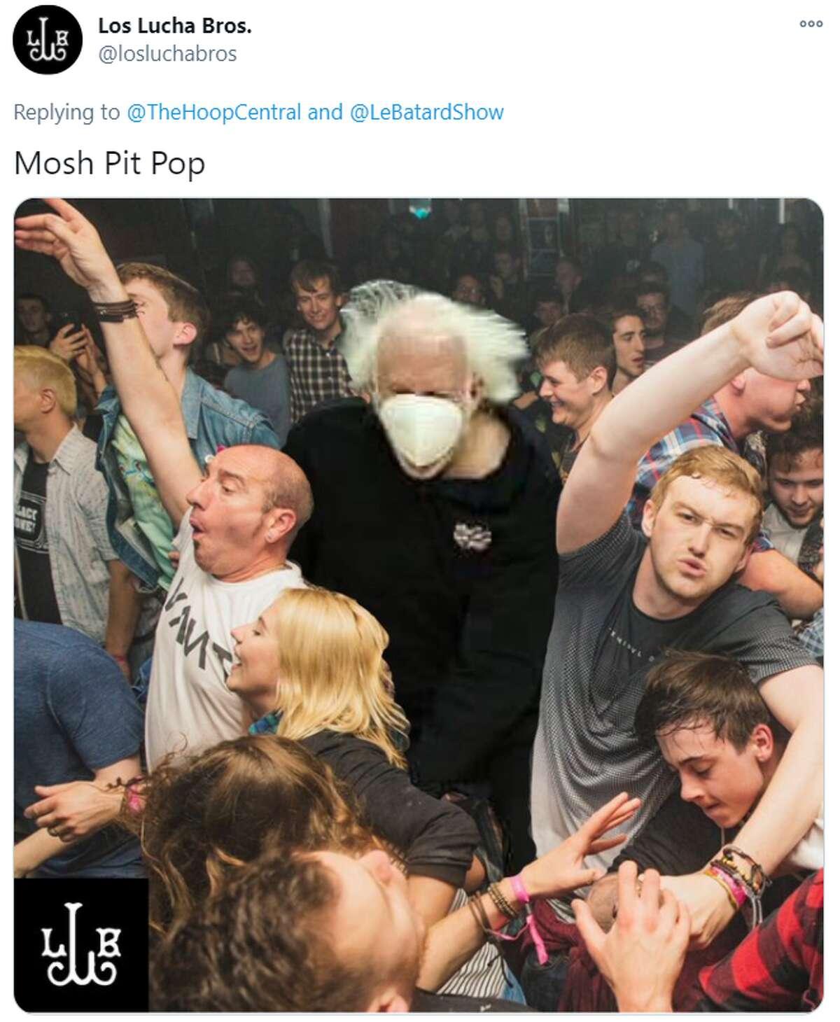 @LosLuchabros: Mosh Pit Pop