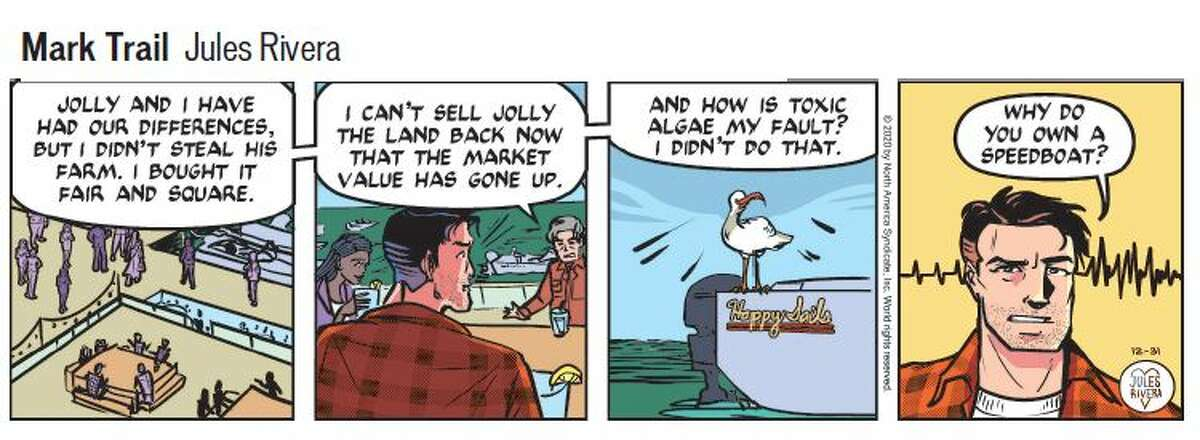 FILE. Letter writer argues the Mark Trail of 2020, so different than that of years past, isn't worth keeping. This is a strip from 2020 showing how the panel looks today.