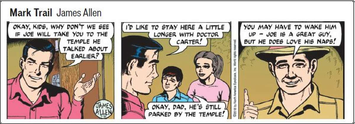 FILE. Letter writer argues the Mark Trail of 2020, so different than that of years past, isn't worth keeping. This is a strip from 2018 showing how the panel used to look.
