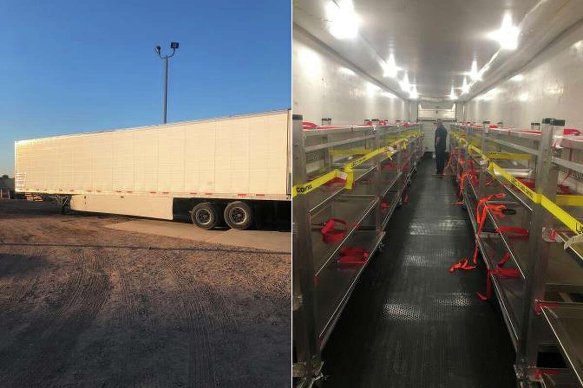 The state's first refrigerated trailer to assist with the storage of COVID-19 decedents arrives in Imperial County. A trailer is being sent to Sonoma County to help with the collection of bodies of people who have died from the coronavirus.