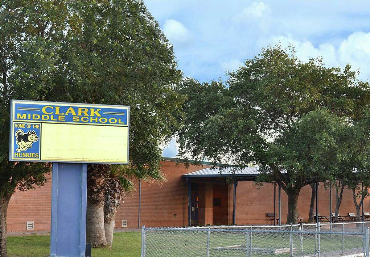 Clark Middle School was locked down on Thursday, Jan. 7, 2021 after repeated threats received by its principal.