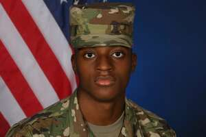 Pfc. Nylyn Eady, 19, was found dead by emergency personnel in the city of Converse on Monday.