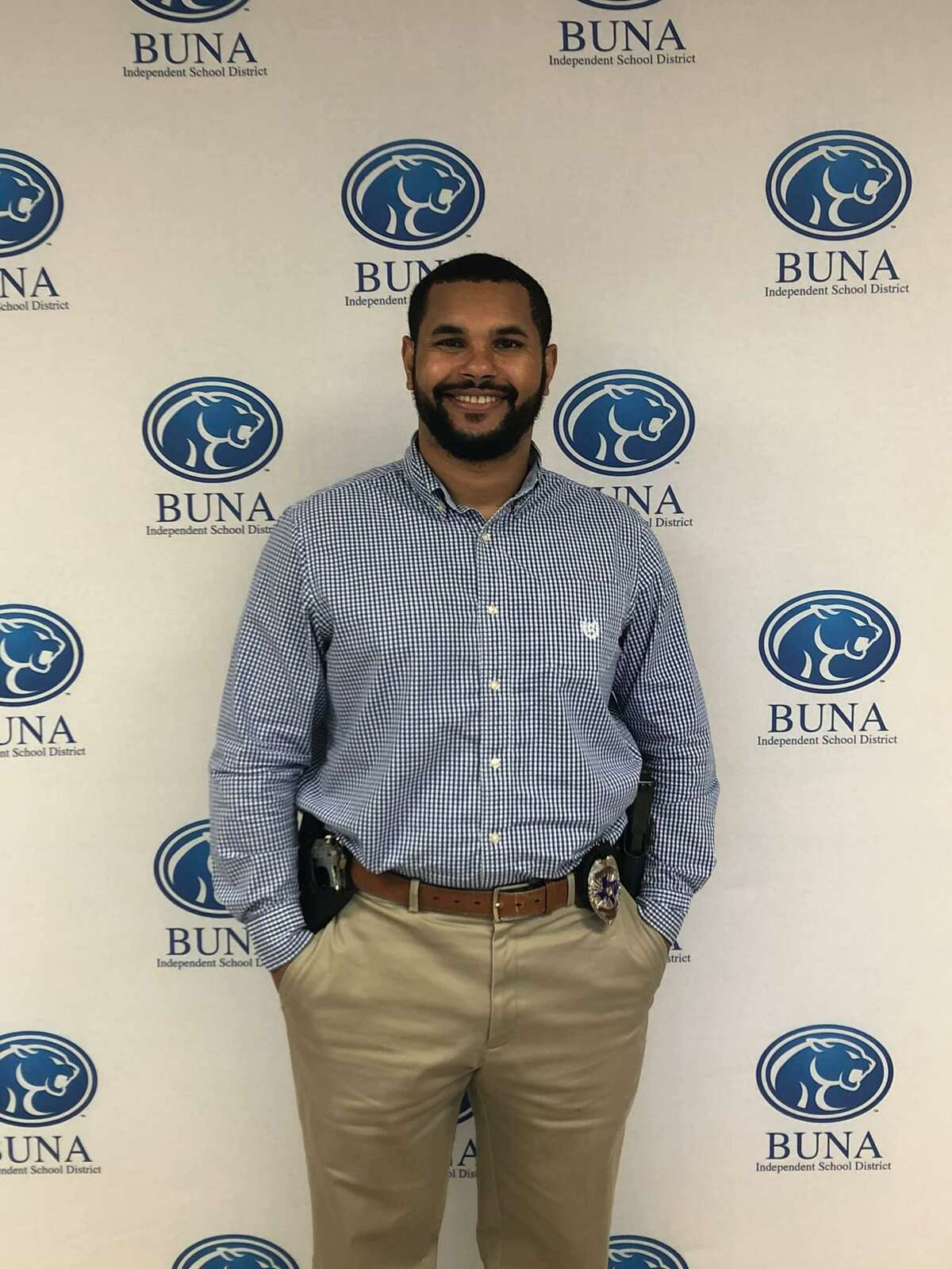 Anthony Smith was recently announced as the new Police Chief for Buna Independent School District.