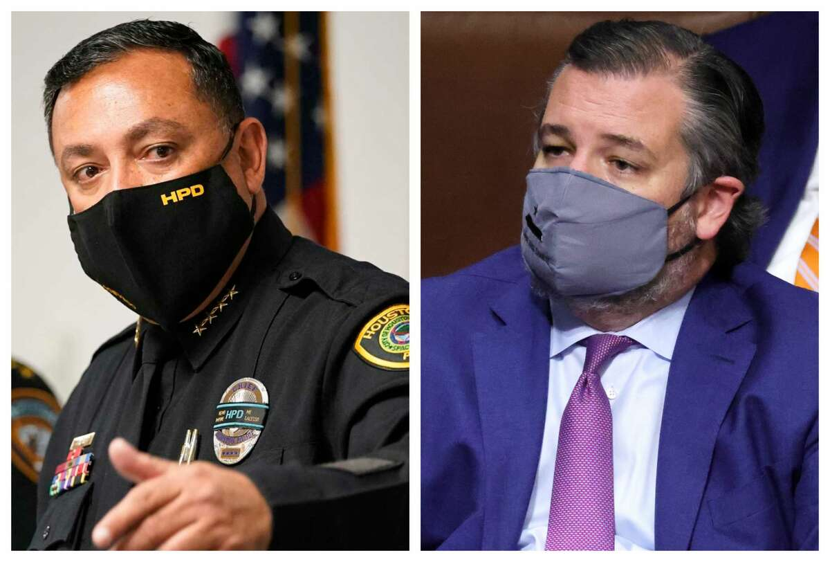 HPD Chief Art Acevedo called out Texas senator Ted Cruz for his role in stoking Wednesday's attack on the Capitol.