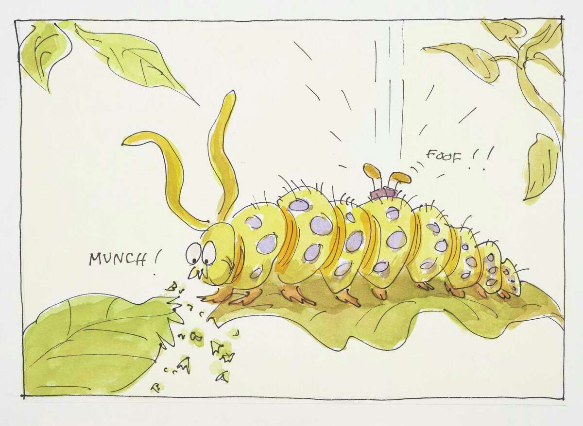 A caterpillar from the 1989 book,