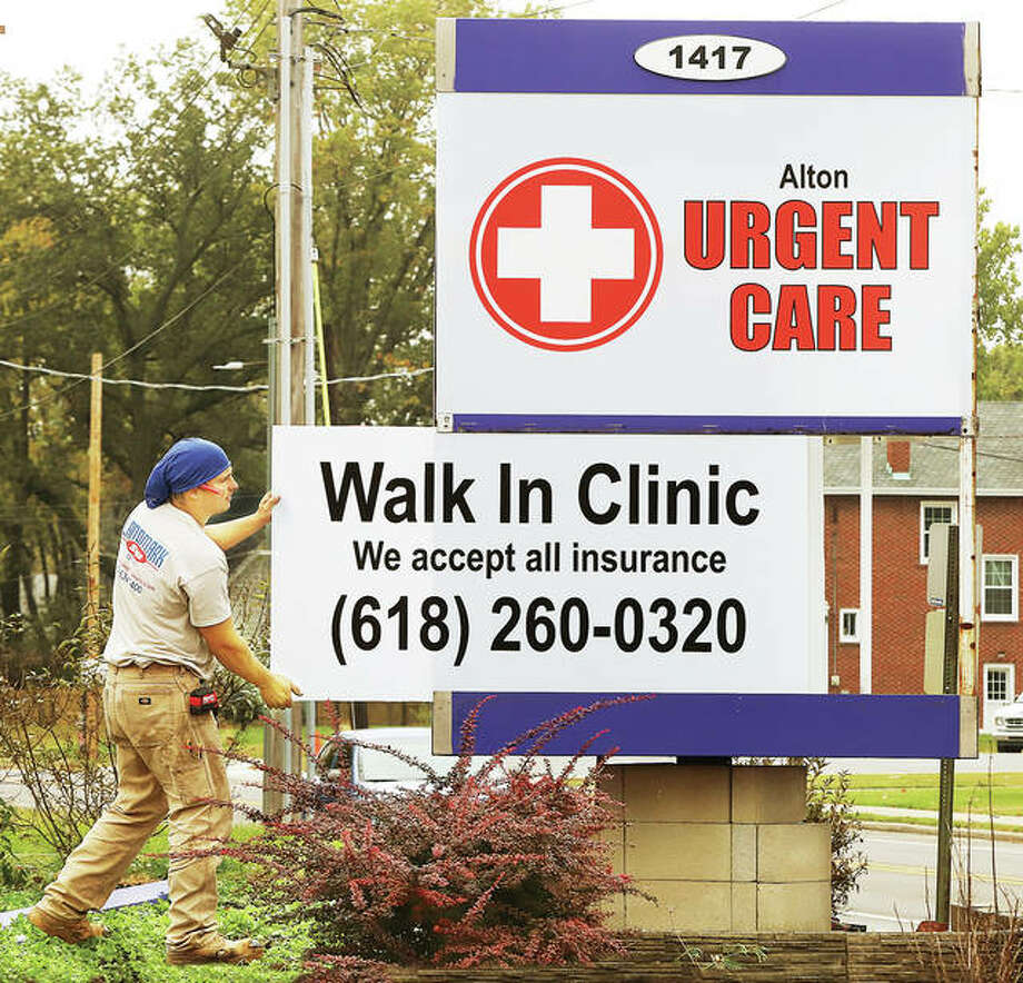 The Urgent Care Walk-In Clinic, part of the Doctor's Urgent Care Group, has opened a seven-day-a-week clinic at 1417 Washington Ave., Alton. For more details, call 618-260-0320.