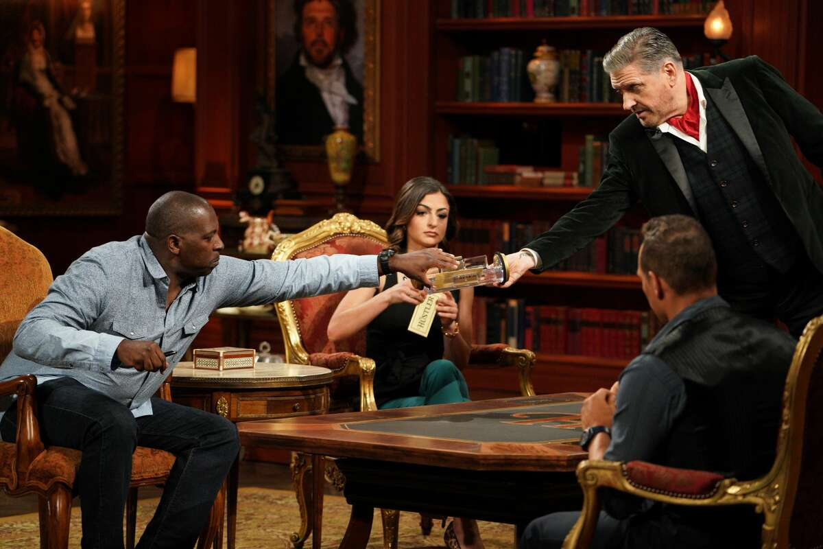 Craig Ferguson and contestants on the Jan. 7, 2021 episode of